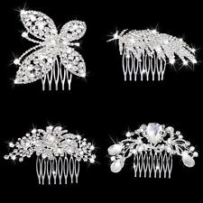 Wedding Crystal Hair Comb Hair Slides Rhinestone Hair Comb Clip Bridal Jewelry