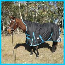 Love My Horse 5'3 - 6'6 1200D 300g Fill Winter Turnout Wug Horse Rug Black