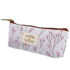 Country Style Canvas Coin Purse Pouch Zipper Bag Cosmetic Makeup
