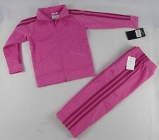Adidas girls' set,  2 piece Tracksuit Jacket and pants Set size 3