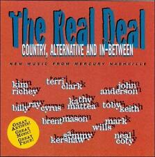 Music CD: The Real Deal Country, Alternative,  Between  608