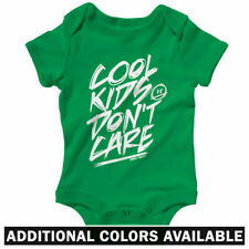 Cool Kids Don't Care One Piece - Baby Infant Creeper Romper NB-24M - Streetwear