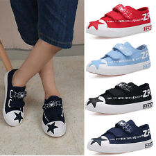 New Boys Girls Spider-Man Low Top Canvas Velcro Trainers Shoes Fashion Sneakers