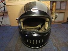 Bell Star LTD Black Motorcycle helmet vintage racing racer cafe chopper bobber