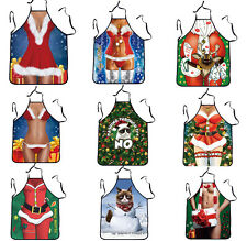 Novelty Cooking Kitchen Restaurant Apron Funny Sexy BBQ Party Apron Xmas Gift