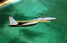 USAF F-15C Eagle Aircraft Color Photo Military F 15 67th Fighter Squadron JET