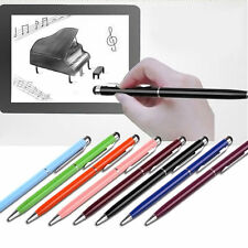 2 in1 Capacitive Touch Screen Stylus/Ball Point Pen for iPad iPhone iPod TOP