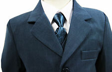 Boys suits, Navy Suit, Boys wedding Suit, Page Boy Suits, 6 months - 16 years
