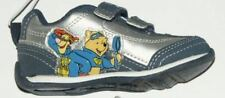 Disney NEW Navy Blue & Silver Winnie The Pooh Athletic Shoes Boys Size 5