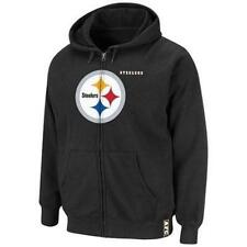 NWT PITTSBURGH STEELERS MENS CLASSIC HEAVYWEIGHT IV FULL ZIP HOODIE SWEATSHIRT