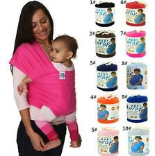 BABY SLING STRETCHY WRAP CARRIER 0 -3 yrs 6 colors
