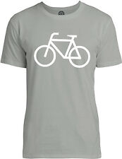 Big Texas Bicycle (White) Mens Fine Jersey T-Shirt