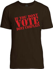 Big Texas If You Dont Vote, Dont Complain (Red) Mens Fine Jersey T-Shirt