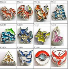 10pcs HOT GAME  floating Charms For Living Memory Glass Floating Charm Locket