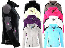 GEOGRAPHICAL NORWAY LADIES POLAR FLEECE JACKET SWEAT TEDDY FLEECE JACKET WK515FF