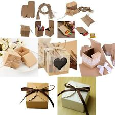 50pcs/Lot Shabby Sweets Candy Chocolate Gift Boxes Wedding Party Favor 7 Style