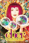 Cher - Live In Concert (DVD, 1999) Lenticular Cover