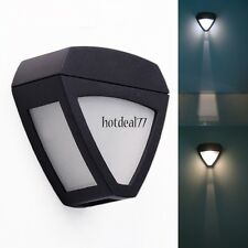Garden Path Wall Fence Lawn Outdoor Solar Powered LED Lamp Lights Lighting 8HOT
