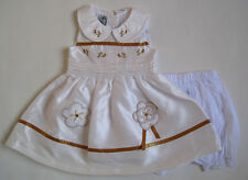 NEW Baby Girl Dress Set Size 0000,000,00,0,1,2