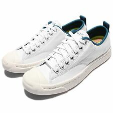 Converse Jack Purcell M-Series Leather White Mens Casual Shoes Sneakers 153615C
