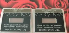 Mary Kay Mineral Eye Color Shadow Cinnabar Lot of 2 New in Casing!
