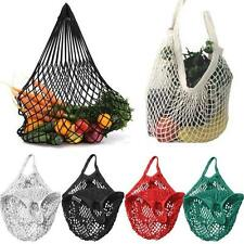 Folding Reusable Eco Shopping Fruit Vegetable Grocery Bag Pouch Tote Handbag Bag