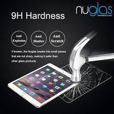 NUGLAS Tempered Glass Screen Protector for iPad Air 1/2  Pro 9.7
