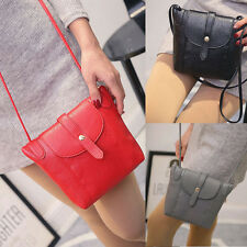Lady Leather Small Handbag Satchel Messenger Cross Body Bag Shoulder Bag Purse l