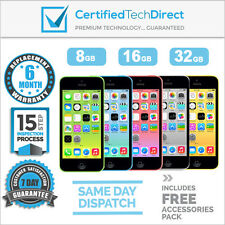 Apple iPhone 5C 4G - 8GB 16GB 32GB Excellent *6 Month Warranty *Unlocked