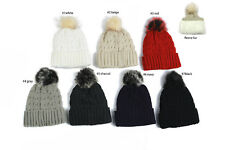 New Winter Lady Girls Acrylic With Ear Flap  Knit Beanie Hat Ski Warm Cap
