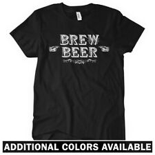 Brew Beer Women's T-shirt S-2X - Bartender Bar Brewery Ale Craft Micro Vintage