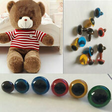 100Pcs 8mm Color Plastic Safety Eyes For Teddy Bear Doll Animal Puppet Craft