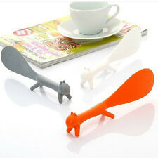 Kitchen Squirrel Shape Non Stick Table Rice Spoon Scoop Paddle Laddle Tool