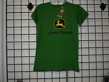 John Deere Women's T Shirt, John Deere Womens T Shirt. 23000024. NWT, JD Green