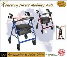 Drive R6 - 4 Wheel Rollator Walker with 6 inch wheels Free Freight in AUS!