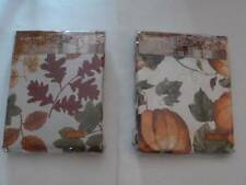 Halloween Thanksgiving Fall Tablecloth Pumpkins or Leaves 4 Sizes UPICK NEW