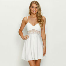 New Mooloola Shire Dress in White | Womens Dresses