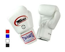 Twins Special Muay Thai Boxing Gloves Pro Synthetic w/ Velcro 8oz - 16oz BGVS3