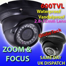 OUTDOOR DOME INFRARED VARIFOCAL CCTV CAMERA SONY 600TVL