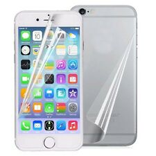 Front Clear Screen Protector +Back Film Cover Skin For Apple iPhone 7 / Plus Lot
