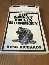 The Great Train Robbery 1st First Edition Ross Richards 1964 Consul Books