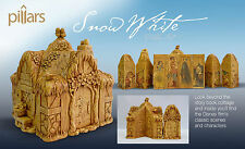 Snow White and the Seven Dwarfs Pillars Disney NEW Full Set Sold-Out Collection
