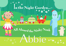 In The Night Garden ITNG Personalised Placemat (A4 Size) great stocking filler