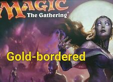 Eldritch Moon Magic the Gathering Uncommon Gold-Bordered Multicoloured Cards