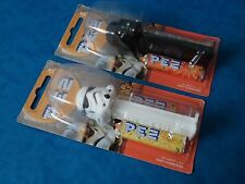 Sweet Dispenser - PEZ - STAR WARS - STORMTROOPER & DARTH VADER - Unopened