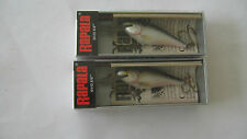 2 RAPALA  SHAD  RAP lures never opened New in Box SR 5 Vintage crankbaits