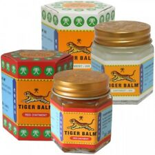 Tiger Balm Red/White Ointment Massage Rub for Muscular aches and pains (10G/30G)