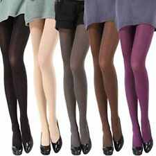 Autumn Winter Solid Opaque Velvet Pantyhose Stockings Tights 14 Candy Colors