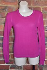 THEORY Magenta Pink Jumper Top - Size M - EUC