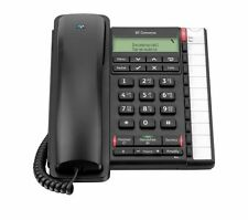 BT CONVERSE 2300 CORDED OFFICE DESK TELEPHONE BLACK HANDSFREE CALLER ID